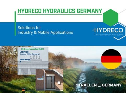 Hydreco Germany, based in Straelen
