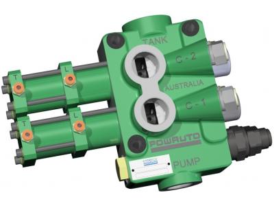 VA210 Series Two Spool Tipping Valves